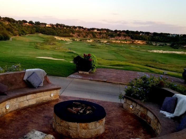 Cementville Grill Fire Pit Patio San Antonio The Quarry Golf Course