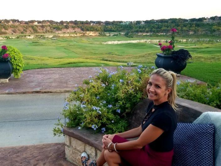 The Quarry Golf Course Fire Pit Patio